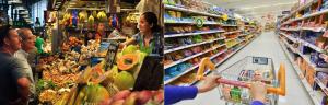 mercado vs supermercado